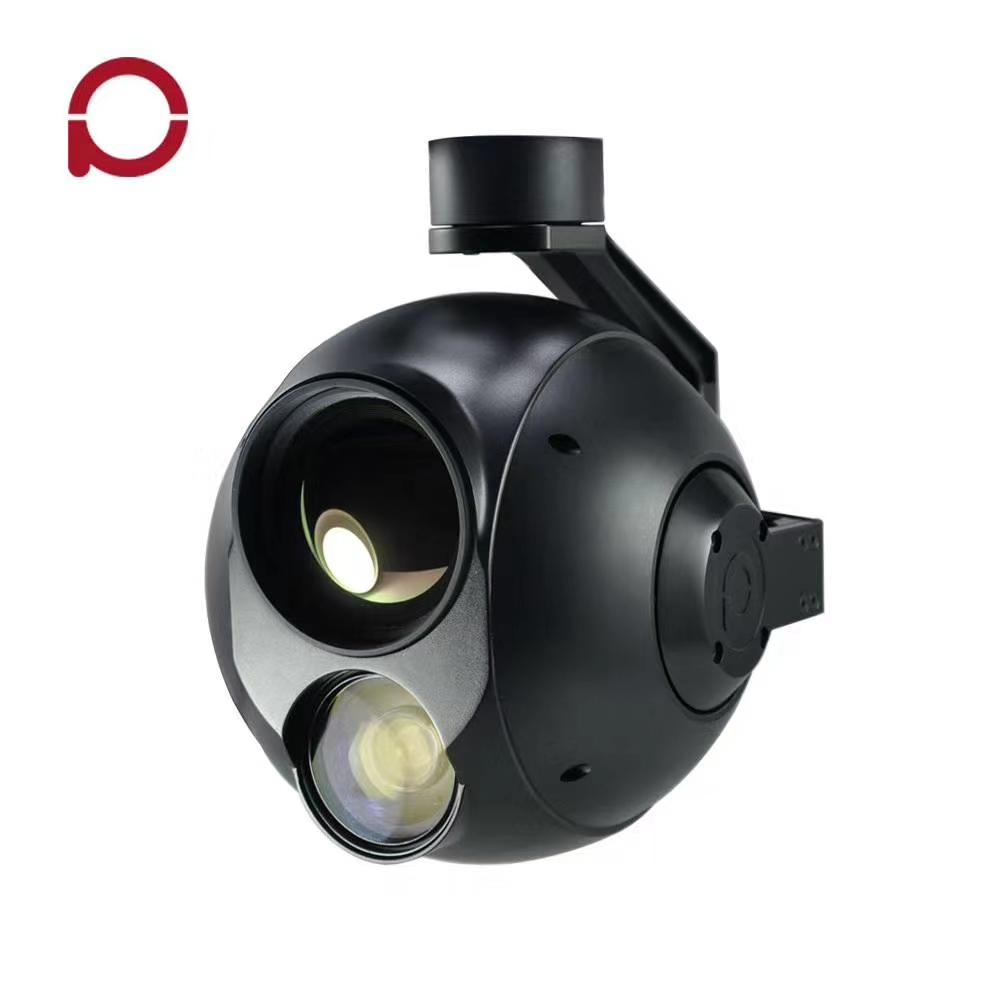 30倍50mm 双光跟踪吊舱(Q30TIR-50) * 热成像 50mm