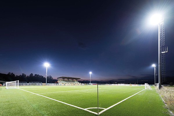 Extensive use of LED high mast lighting applications