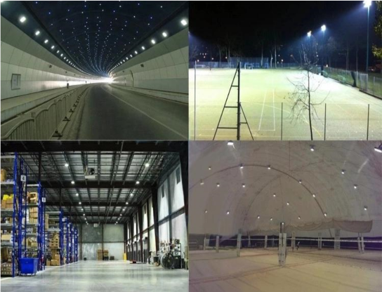 200W LED Tunnel Lights application