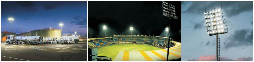 High quality Led outdoors sport stadium light high mast lighting