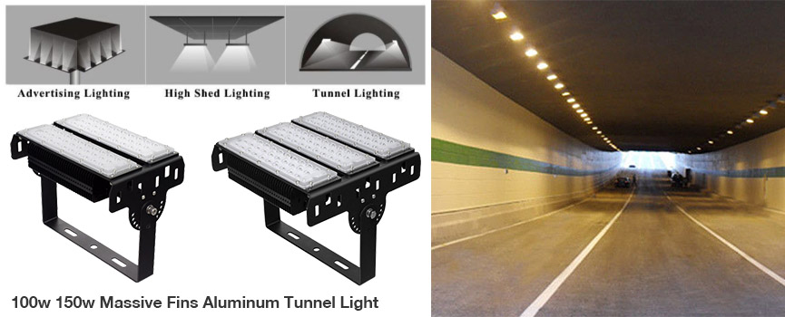 LED tunnel light manufacturing in China