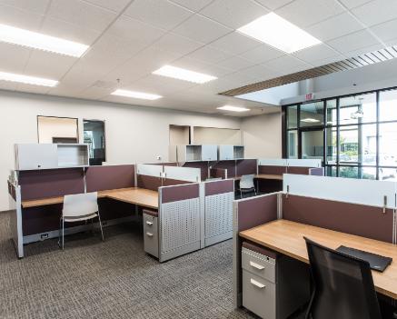 LED panel light application for office