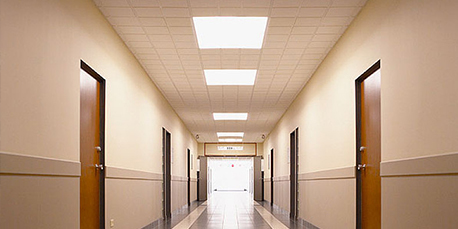 Corridor common area lighting