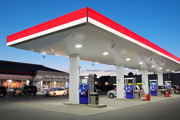 Why can LED Canopy Light be used for gas station lighting?