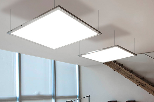LED panel lights for commercial and home lighting