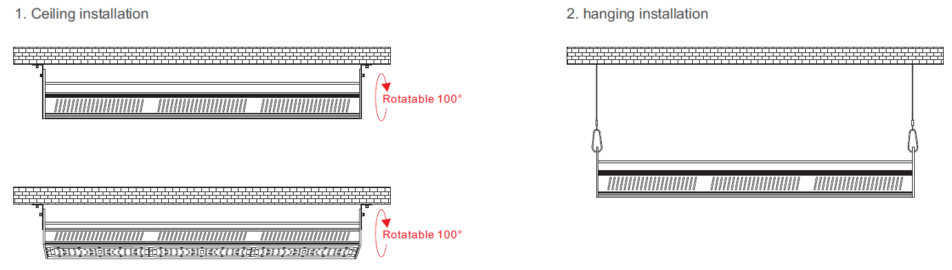 With preinstalled hook, make the installation much easier