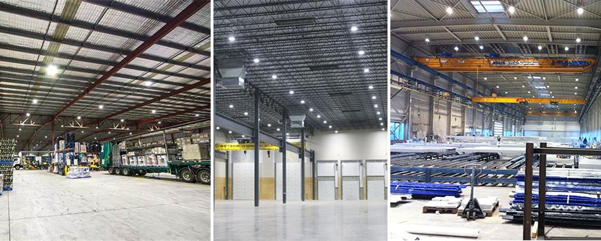 LED lights use less energy, saving money in utility bills