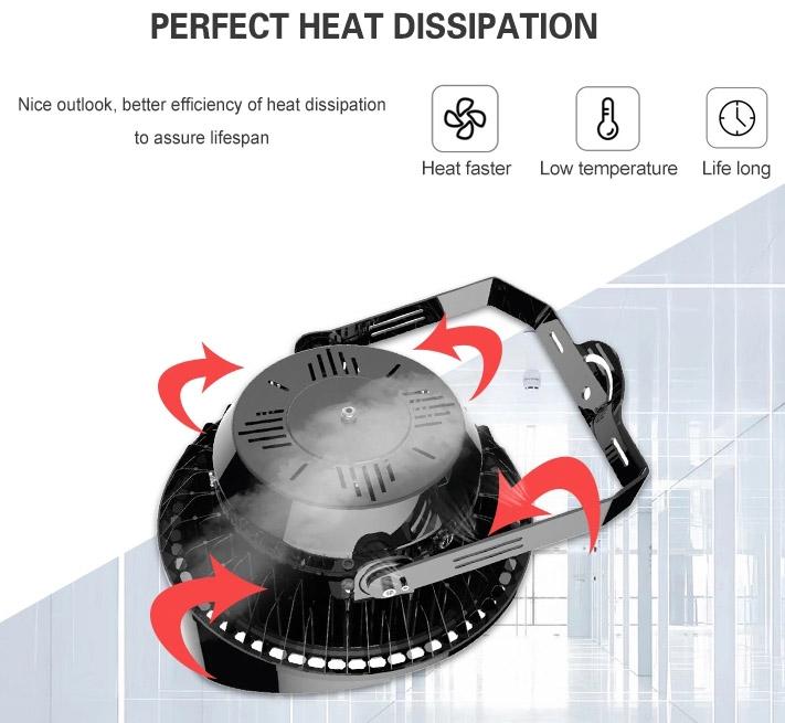 LED High Mast light heat dissipation is good, lifespan can assured