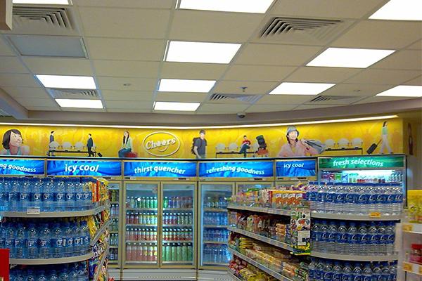 led panel light For supermarket
