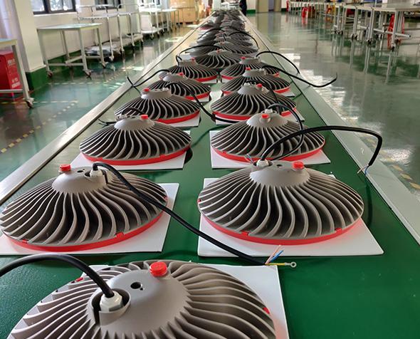 Mass production of led high bay lights