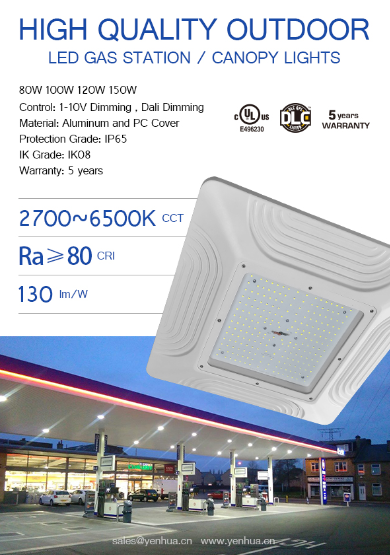 Yenhua lighting LED Canopy lights