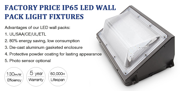 LED wall pack light manufacturer