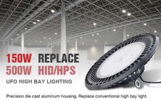 150W UFO LED High Bay light manufacturer