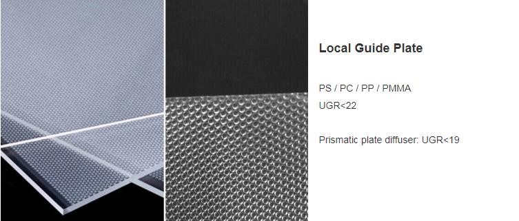 LED Panel light LGP UGR<19