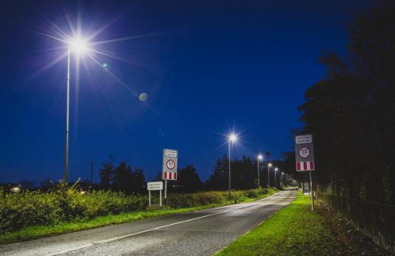 Outdoor road lighting
