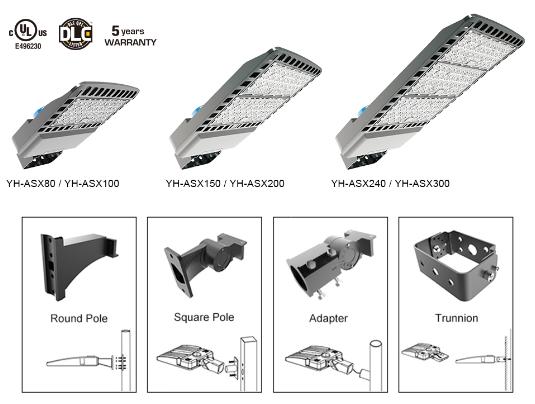 IP65 outdoor road lighting