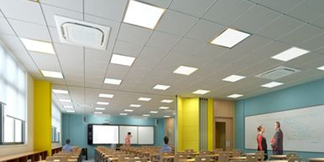 Classroom lighting,Alicante, Spain