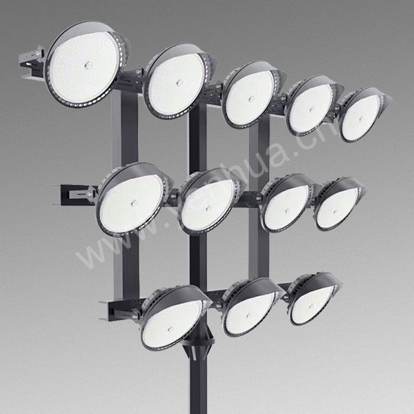 800W High quality IP65 waterproof lighting outdoor area LED High Mast Stadium Light