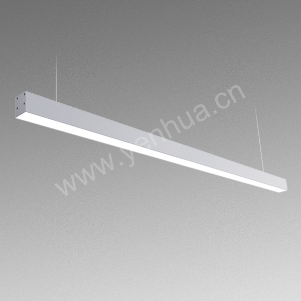 50W LED Linear Light 100lm/W Modern Office Lighting 1.5m
