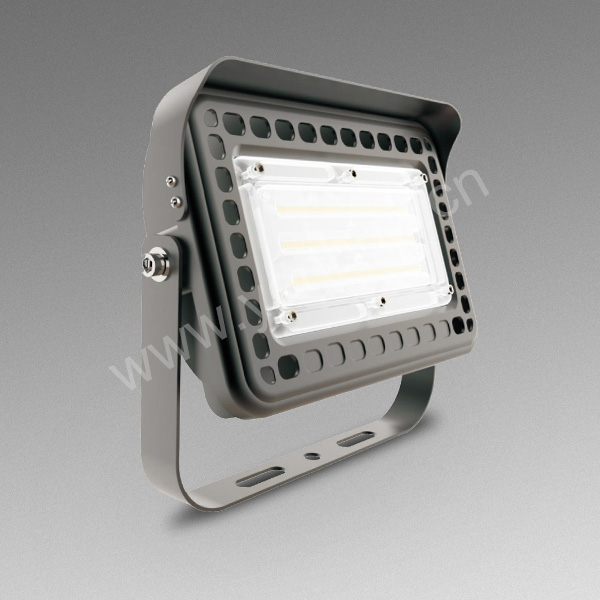 Die-casting Aluminum Slim IP65 Waterproof 50w Outdoor Floodlight