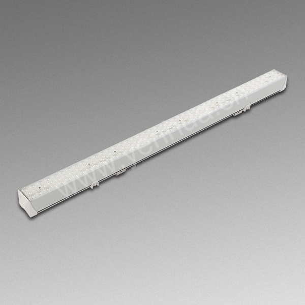 36W White black housing aluminum profile led linear light diffuser , led linear pendant ligh