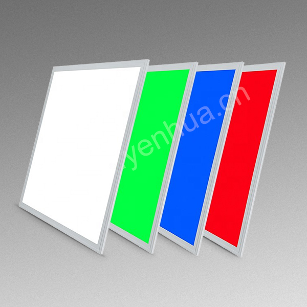 36W RGB colorful flash 2x2ft LED panel light directly surface mounted